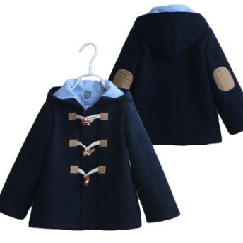 new 2014 autumn-winter boys woollen coat boys thick warm lamb wool coat kids clothing set children wool jacket boys coat