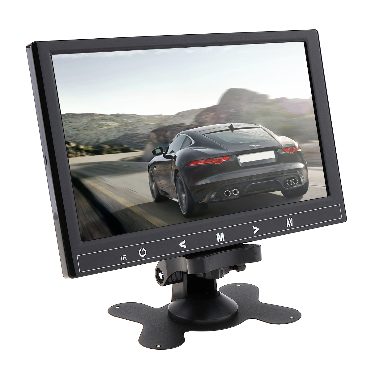 9 Inch HD IPS 1024 600 TFT LCD Color Multifunction Car Headrest Monitor support HDMI VGA AV Wireless Mobile Phone Mirror Link in Car Monitors from Automobiles Motorcycles