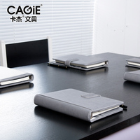 CAGIE 2016 Business Meeting Notebook A5 Vintage Pu Leather Planner Agenda Creative Spiral Sketchbook Office Daily