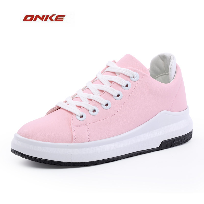 ONKE 2017 Man Flat Bottom Non Skid Athletic Breathable Summer Shoes Women White Color Big Size Us Size 5-9.5 Lover Sports Shoes