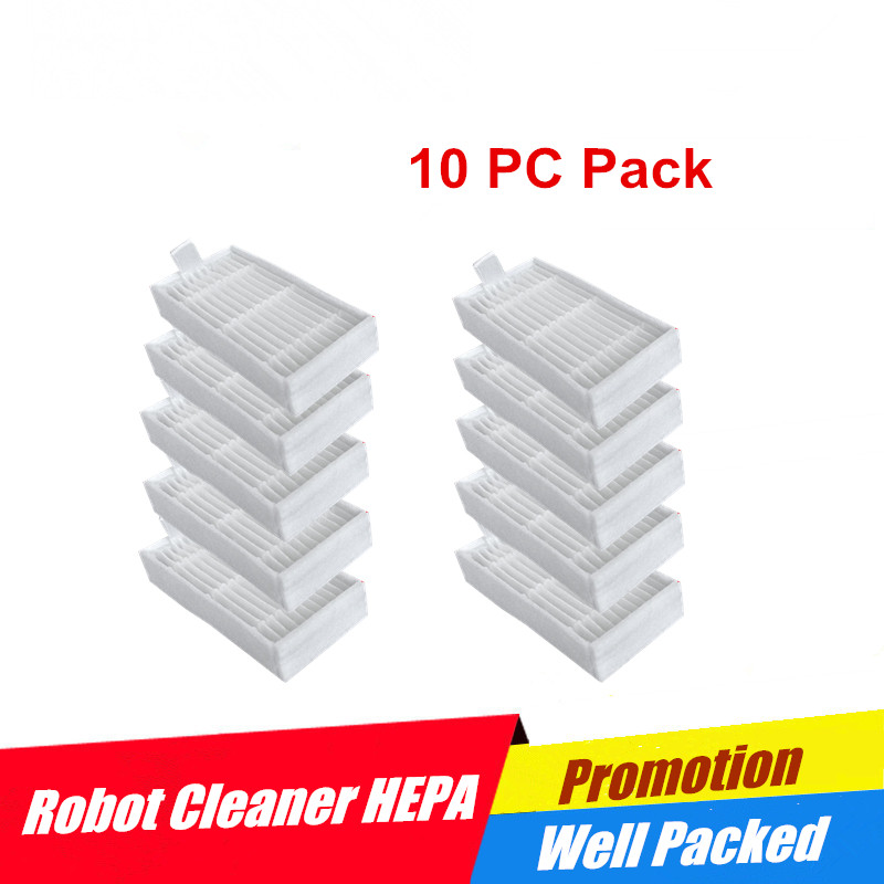 Vacuum Cleaner Parts Dedicated 6pcs Replacement Hepa Filter For Panda X600 Pet Kitfort Kt504 For Robotic Robot Vacuum Cleaner Accessories