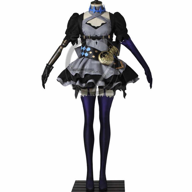 SINoALICE Алиса косплей костюм Горячая игра косплей Хэллоуин для взрослых женщин необычный костюм Алисы платье готический костюм Лолиты
