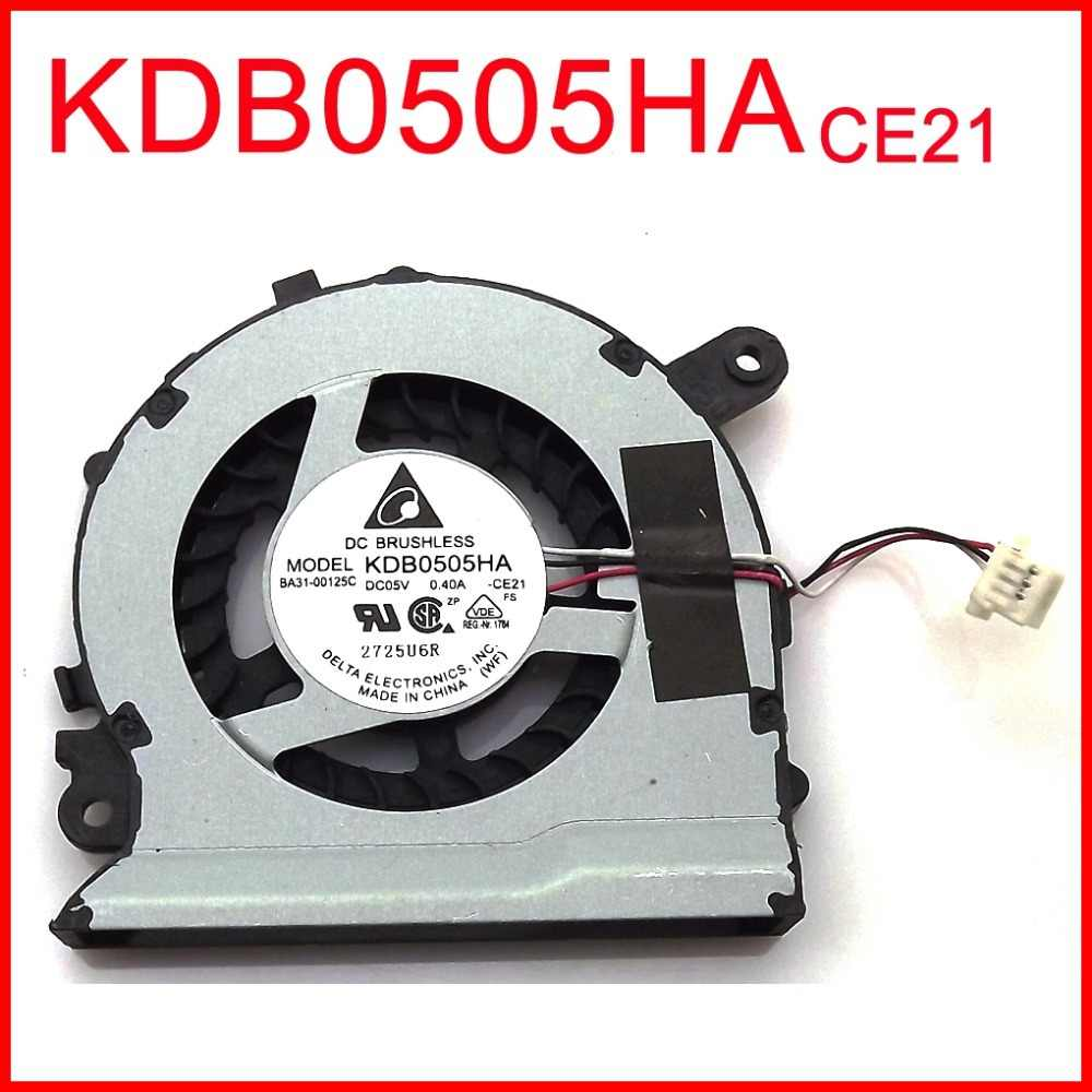 KDB0505HA-CE21 BA31-00125C 0.4a 5 فولت NP535U3C cpu fan for samsung 530u3c 530u3b 535u3c 540u3c 532u3c مروحة التبريد