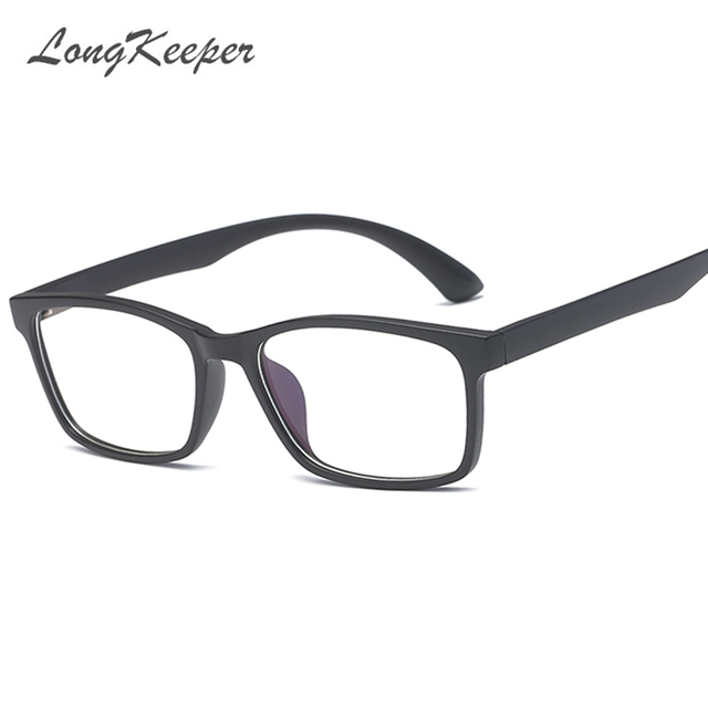 LongKeeper Brand Spectacle Simple Men Women Optical Glasses Frame ...