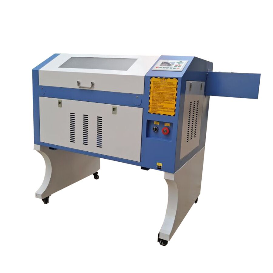 <font><b>4060</b></font> <font><b>100W</b></font> W2 reci Laser Engraving Cutting Machine Ruida 6442s system <font><b>CO2</b></font> Laser engraver engraving non-metal image