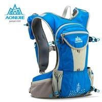 AONIJIE Running Bag 12L Large Marathon Trail Running Backpack Hydration Vest Pack For 2L Water Bladder Cycling Hiking Bag