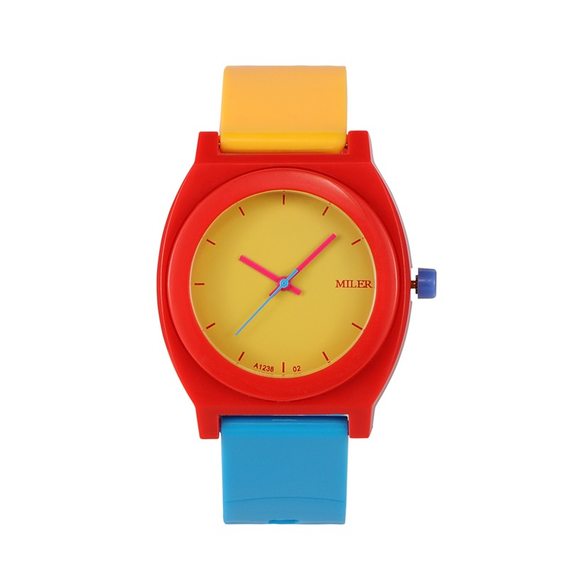 Children's Wrist Watches Plastic Students Sports Watches Birthday Gift For Kids Girls And Boys Colourful perfect gift boys girls students time electronic digital wrist sport watch green levert dropship nov29