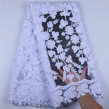 Newest Applique Milk Silk African Lace Fabric High Quality French Lace Fabric Nigerian Tulle Lace Fabric For Wedding Dress A1598 - DISCOUNT ITEM  34% OFF All Category