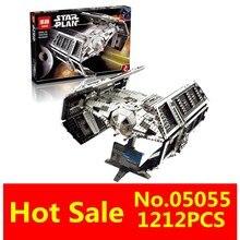 LEPIN 05055 1212 Pz Star Wars Vader TIE avanzato Modello di aereo da caccia Kit di Costruzione di Blocchi di Mattoni Bambini Giocattoli Compatibile