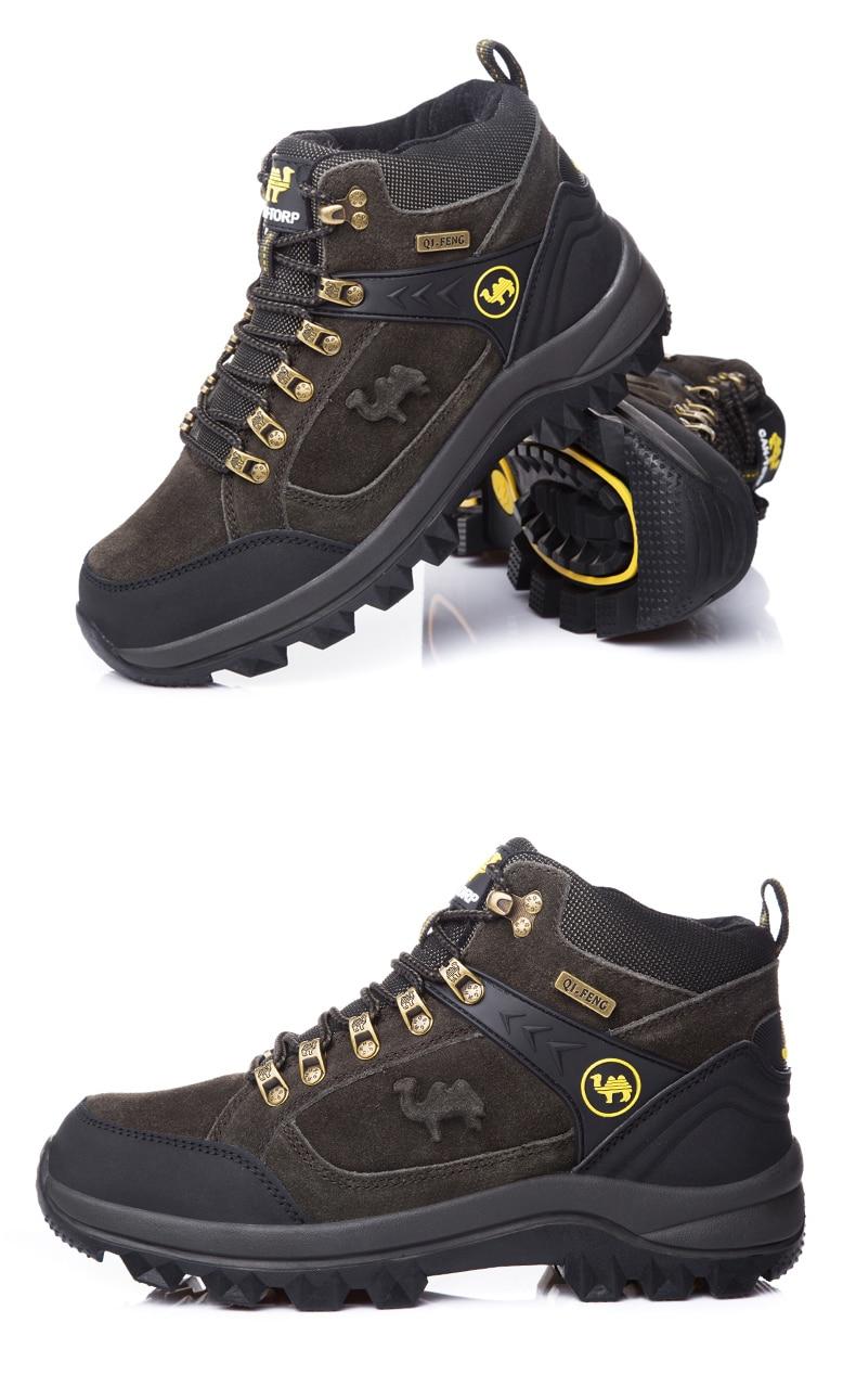 moda camurça sapatos de trekking