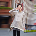 Autumn and winter maternity clothing New fashion Maternity Sweater Dress Pregnancy wear loose knit pregnant women sweater coat