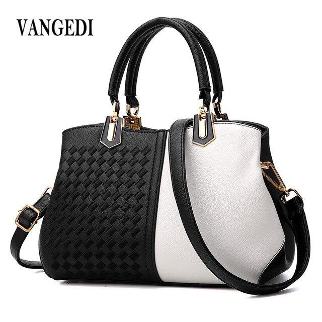 Women s Shoulder Bags Matte Leather Fashion Bag Brand Designer Ladies  Handbag New Weave Tassel Women Casual Tote Bag sac a main 9f58bb78fecab