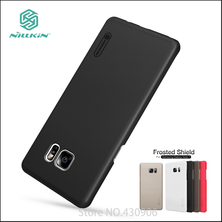 Nillkin For Samsung Galaxy Note 7 Cover Hard Case Phone Shell Super Frosted Shield For SAMSUNG Galaxy Note Fan Edition