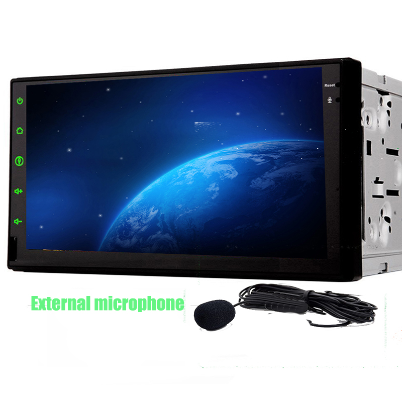 Android 7.1 Full Touch Car PC Tablet double 2din audio 7'' GPS Navi For Nissan Qashqai X trail Tiida No DVD mp3 Car Stereo Radio