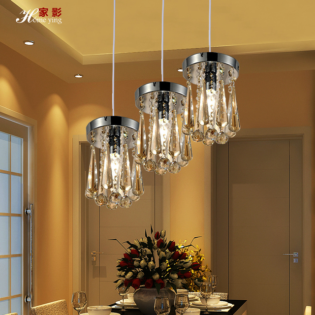 Us 1316 7 Shadow Home Chandelier Lighting Three Light Dining Room Table Lamp Light Meal Three Ideas Led Crystal Chandelier Lamp Single Hea In Shadow