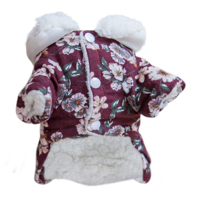 Dog Dress Skirt Winter Warm Small Dog Dress Puppy Clothes Chihuahua Yorkies Poodle Pet Clothing Fashion Costume Coat Bulldog SZ