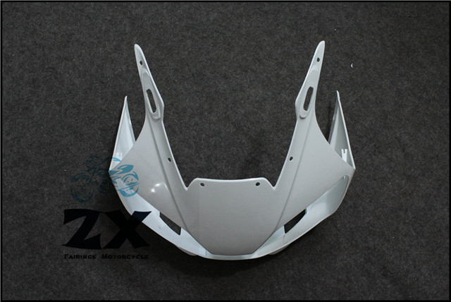Complete Fairings For Upper Front Head Fairing Cowl Nose Cowl For YAMAHA YZF R1 YZF-R6 1998--2002 unpainted unpainted abs plastic front upper cowl nose fairing bodywork for yamaha yzf r6 r600 1998 2002 1999 2000 2001