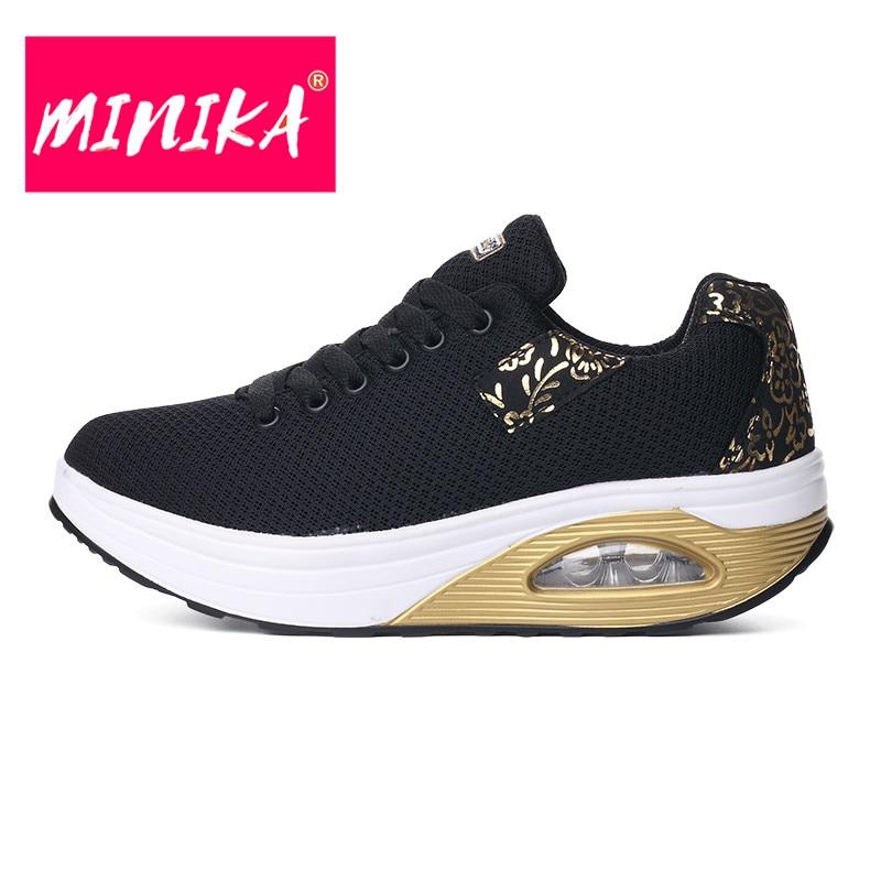 MINIKA New Brand Women Flats Schoenen Fashion Bronzing Women Duurzame - Damesschoenen - Foto 2