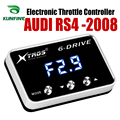Автомобильный электронный контроллер дроссельной заслонки гоночный ускоритель мощный усилитель для AUDI RS4 2008 вперед Тюнинг Запчасти аксесс...