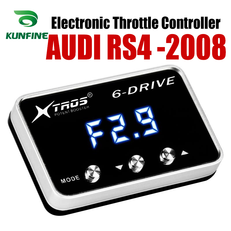 Car Electronic Throttle Controller Racing Accelerator Potent Booster For AUDI RS4 2008 Forwards Tuning Parts AccessoryCar Electronic Throttle Controller Racing Accelerator Potent Booster For AUDI RS4 2008 Forwards Tuning Parts Accessory