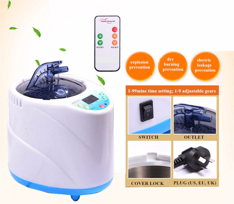 Steam Saunas For Release Fatigue Skin Beauty Sleep Aiding Lose Weight Slim Body Health Care Steaming Sauna Device  (20)