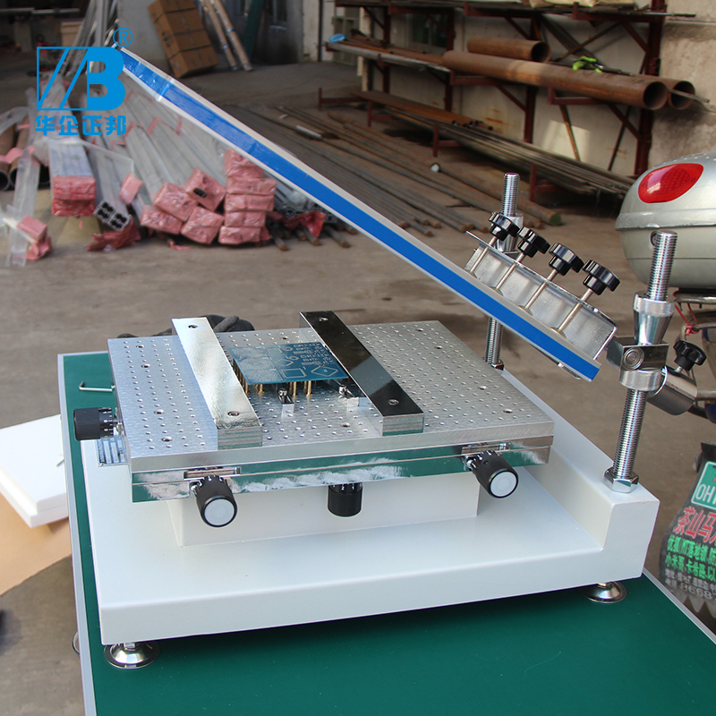 Screen printing table Manual SMT solder paste print table screen Printer printing machine for screen printing