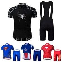 950f77e9e 2018 Black Spiderman Maillot Cycling Bike Wear Ropa Ciclismo Men Cycling  Clothing Captain America Cycling