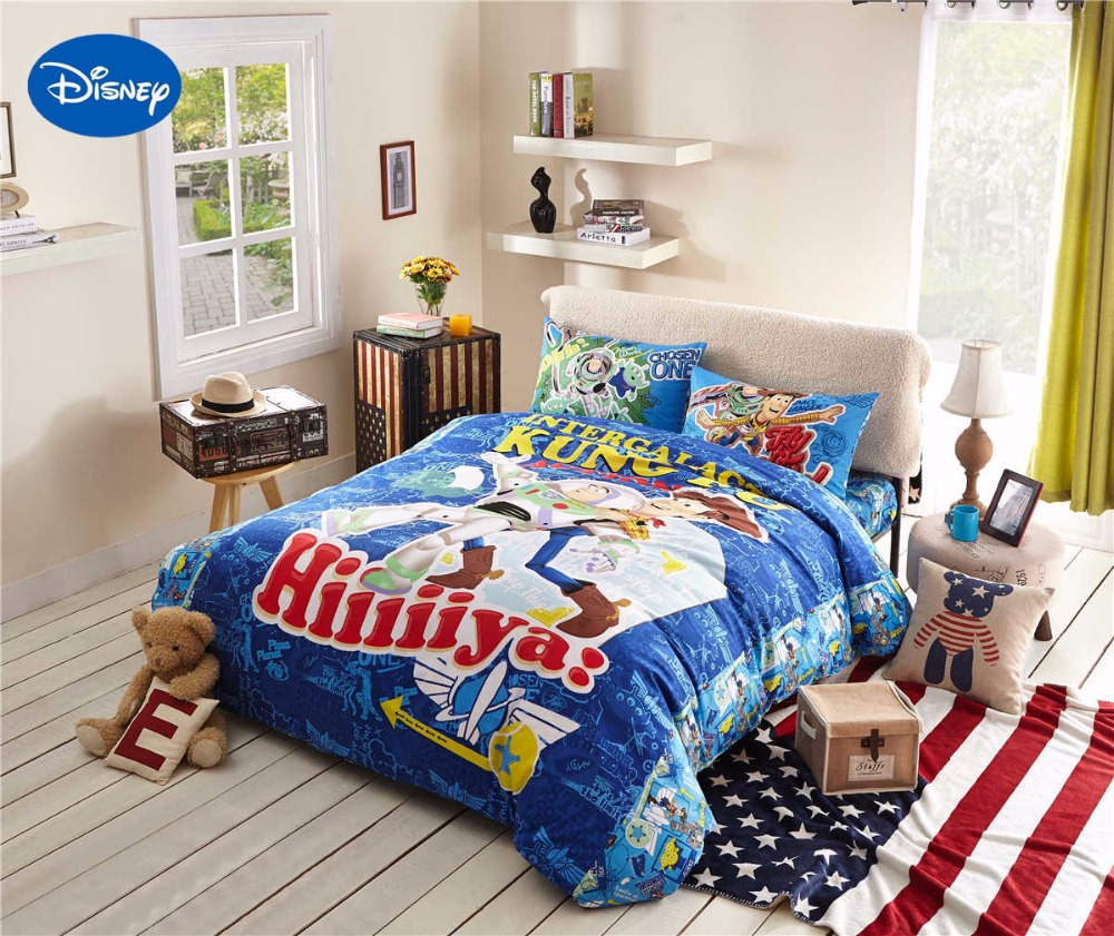 Toy Story 3d Printed Bedding Comforter Sets Duvet Covers Sheets Children' Boys Baby Bedroom