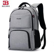 6f2fd3ee3292 BALANG Новый Для мужчин большой Ёмкость ежедневно рюкзак Для женщин школьные  сумки для 15,6 дюймовый ноутбук Тетрадь унисекс Вод..