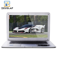 ZEUSLAP 14inch Ultraslim 8GB RAM 256GB SSD Windows 10 System Intel Quad Core 1920x1080P FHD Laptop