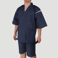 New Spring 100 Cotton Japan Kimono For Men Pajamas Sets Short Sleeve Sleep Lounge Couple Robe