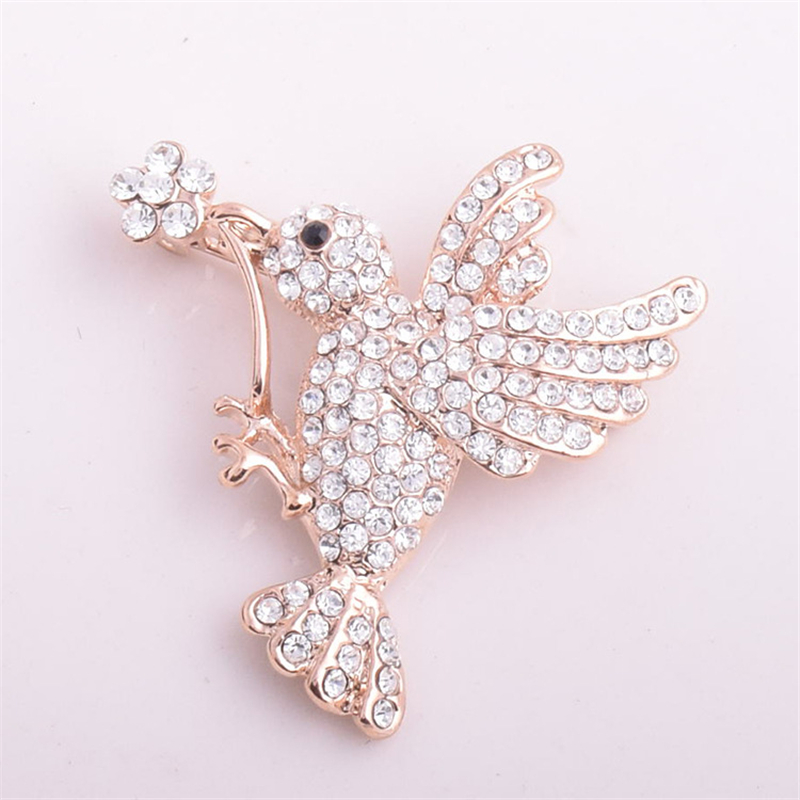 Ranton 2018 Fashion 1 Pc Diamond Monkey Alloy Badges Funny Style High Quality Crystal Pin Brooch For Suit Clothes And Bags Arts,crafts & Sewing Badges