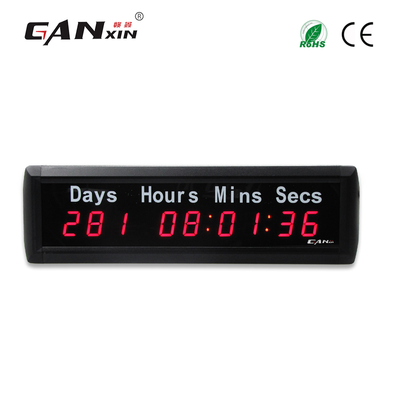 """[GANXIN] shenzhen 1 """"9 číslic 999 dnů odpočítávání času Nový rok S odpočítávání času Silvestr hodiny hodiny minuty sekundy časovač"""