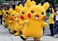 2016 Hot sale! Pikachu Mascot Costume Fancy Dress Outfit Pikachu Mascot Costumes