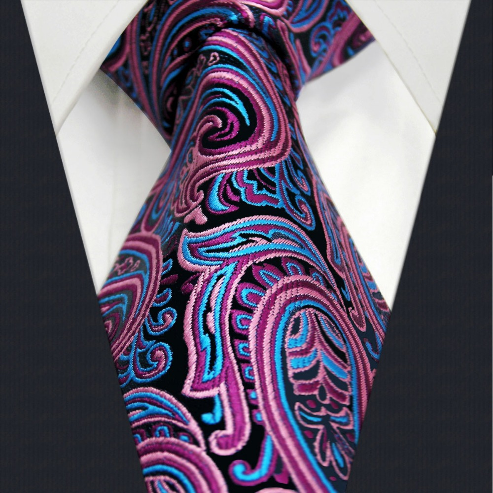 Online Buy Wholesale pink paisley ties from China pink ...