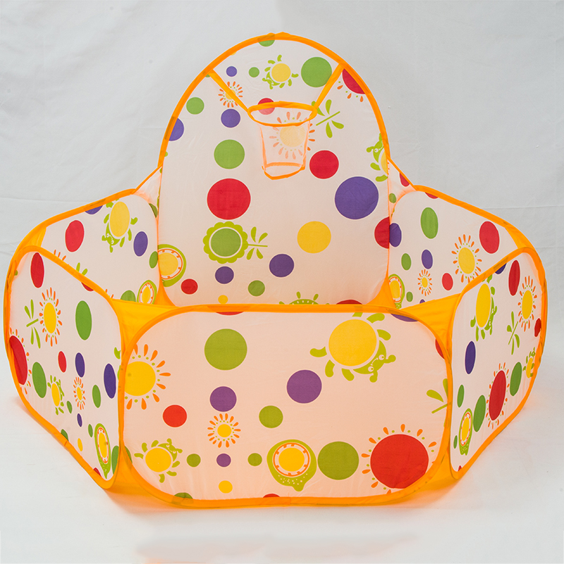 Polka-Dot-Toy-Tents-Kids-Portable-Ball-Pool-Playpen-Shoot-Basketball-Ball-Play-Pool-Folding-inflatable