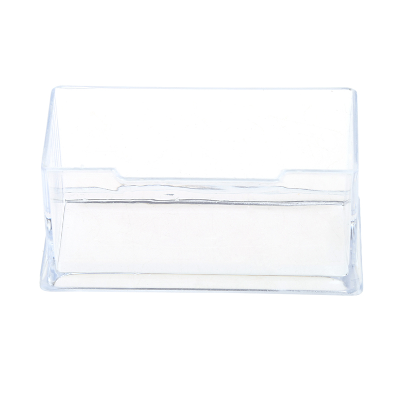 1pc x business card holder clear business card holder acrylic 1pc x business card holder clear business card holder acrylic plastic display stand rack desktop office new in card stock from office school supplies on colourmoves