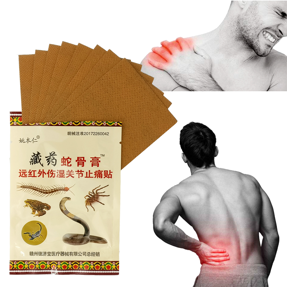 16pcs Knee Joint Pain Relieving Patch Medical Plaster Muscle Relaxation Joint Pain Killer Back Neck Patches Tiger Balm Massage 25 pair herbal detox foot pad patch massage relaxation herbs medical health care plaster treatment joint pain improve sleep rp2