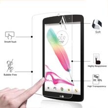 "Premium HD Clear Shiny display screen protector movie For LG G Pad2 F eight.zero V495 V496 V498 eight.zero"" pill entrance display screen protecting HD liquid crystal display movie"