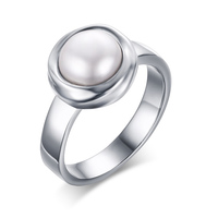 模擬梨の婚約指輪シルバーメッキ女の子ジュエリ