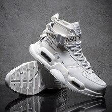 6f77c9e8058 2018 новые модные мужские кроссовки 9908 высокие спортивная обувь для  мужчин черный белый на улице