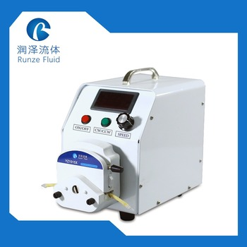 0-400rpm, LED Speed Display 0-1700ml/min Variable Flow Peristaltic Pump Easy Loading Tube Silicon/BPT large flow 0 2000ml min peristaltic pump ac220v speed adjustable with silicon tubing industrial liquid pump