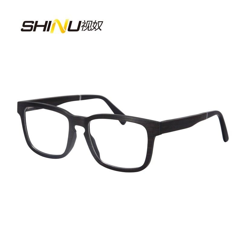 priroda drvo optički okvir naočale s receptom naočale - Pribor za odjeću - Foto 6