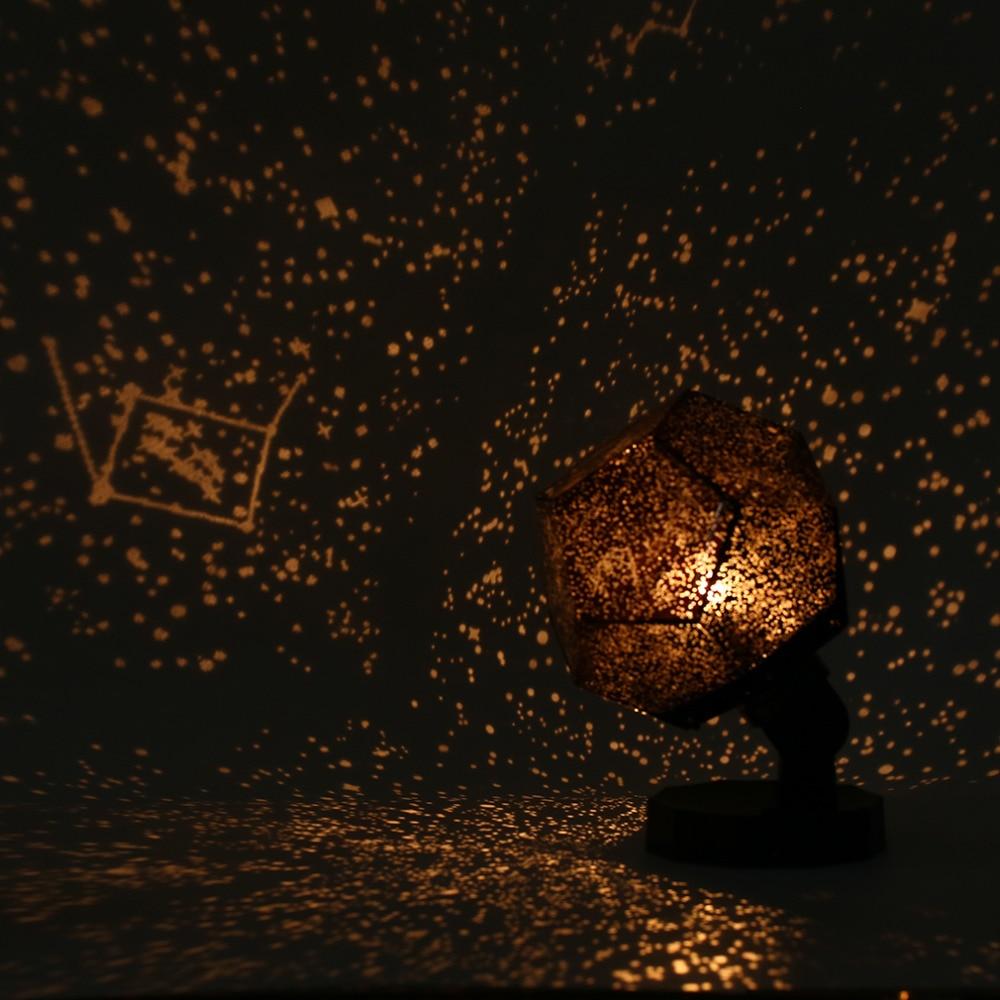 Icoco Venta caliente celestial Star astro Cosmos cielo noche luz proyector lámpara estrellada dormitorio romántico Decoración para el hogar envío de la gota