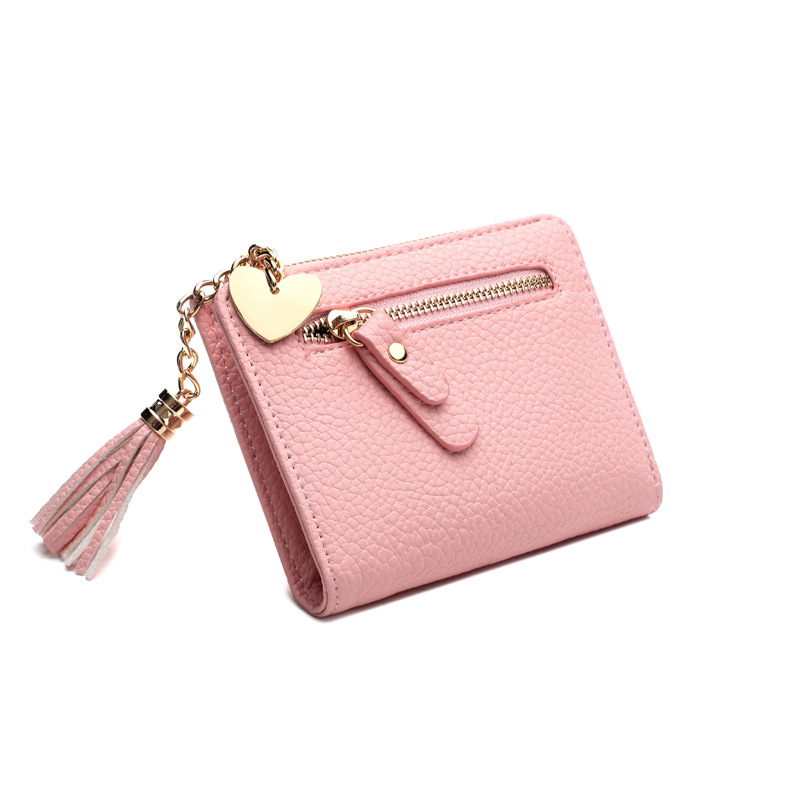 Coin Bag Zipper Small Tassel Women Purse Female Mini Wallet Multifunction Lady Coin Purse Women's Cute Brand Money Change Wallet cute girl hasp small wallets women coin purses female coin bag lady cotton cloth pouch kids money mini bag children change purse