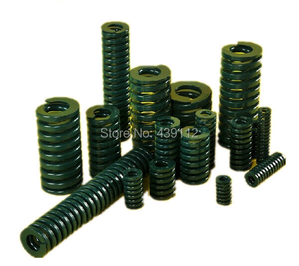 free shipping 10Pcs 22mm x 11mm x 40mm Spiral Metal Stamping Compression Die Spring free shipping 16mm x 8mm x 50 mm green metal tubular section mould die spring 10pcs lot