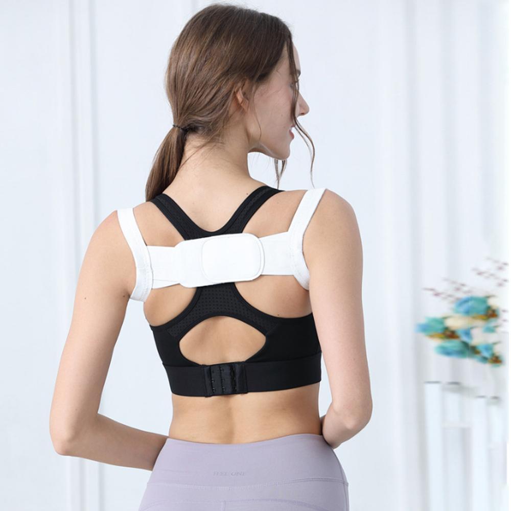 Adult Children Back Shoulder Posture Corrector Spine Support Belt Adjustable Orthotics Corset Upper Brace Bandage Health Care