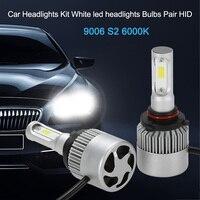 Car Headlights Kit For H1 S2 H3 H4 H7 9006 500W 80000LM 6000K White Led Headlights