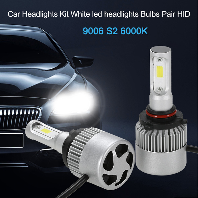 Led Headlights For Cars >> Car Headlights Kit For H1 S2 H3 H4 H7 9006 500w 80000lm 6000k White