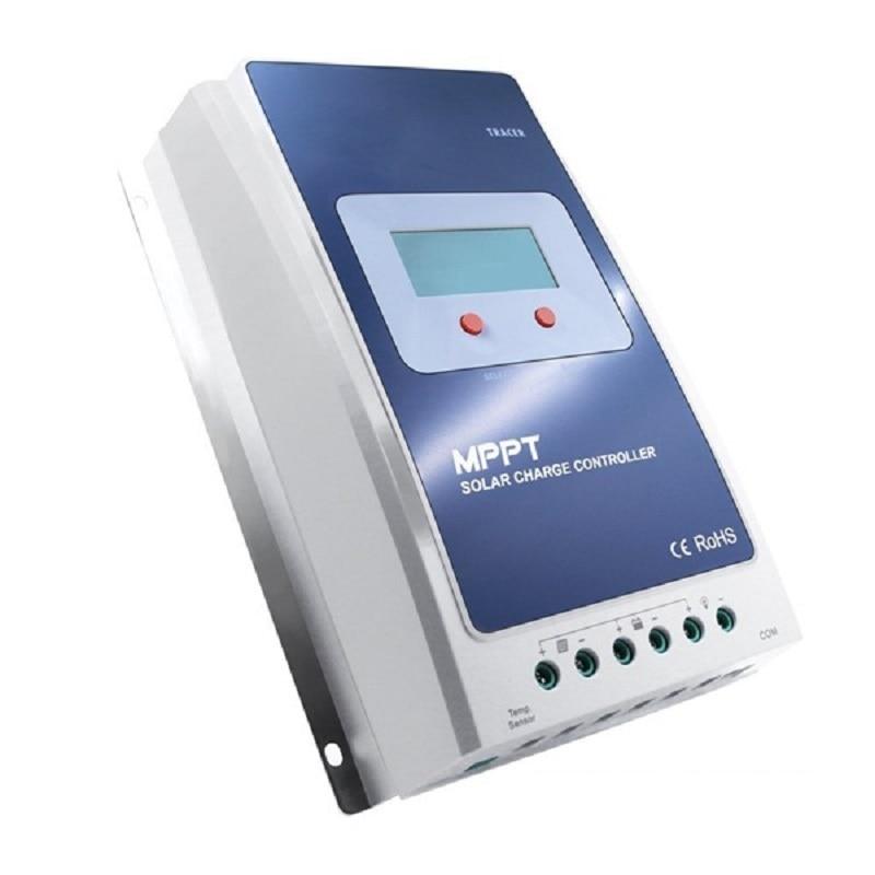 Panneau solaire contrôleur de Charge de batterie traceur 4210A MPPT EPsolar 100 V 30A 12 V 24 V LCD contrôleur solaire